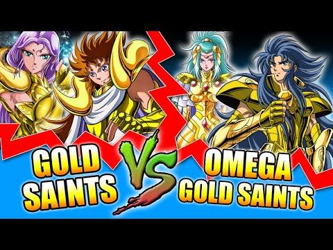 Gold Saints VS Gold Saints Omega