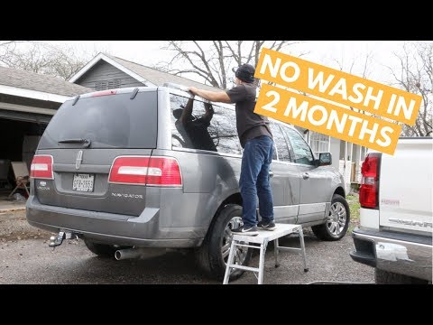 Wash and Wax on Car That Has NOT Been Washed in MONTHS - How To Wash DIRY Car