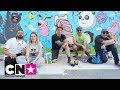 Live painting | CN PopUpTown | Cartoon Network Italia