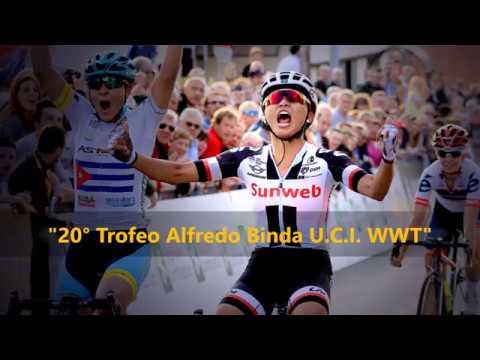 "Promo ""Trofeo Alfredo Binda U.CI. WWT 2018"" a Cittiglio (VA)"