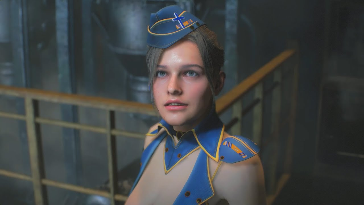 This mod introduces a high-quality 3D model of Jill