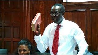 I am clean, Mutahi Ngunyi swears on mom's Bible