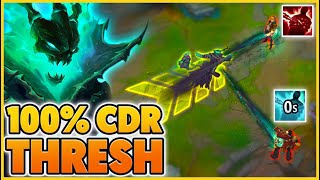 100% CDR THRESH (I FINALLY Played Thresh In Season 11) - BunnyFuFuu | League of Legends