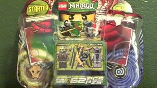 2012 Lego Ninjago Starter Set Review