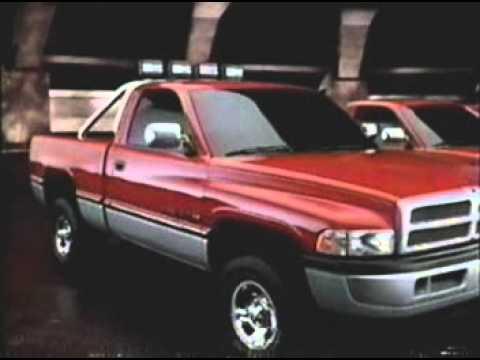 1994 Dodge Magnum V10 Ram Truck commercial  YouTube