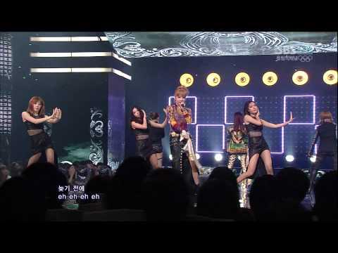 2NE1_0729_SBS Inkigayo_I LOVE YOU
