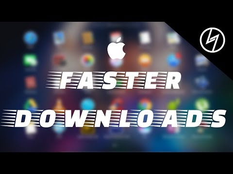 How To Download Large Files With Faster Speeds On MacOS | CreatorShed