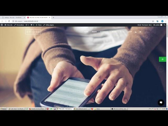 Como deixar seu site wordpress visível apenas pra você durante a criação