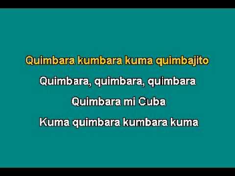 karaoke CELIA CRUZ Quimbara