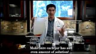 Vinali Grape Seed Extract & Vitamin C demo on anti oxidant
