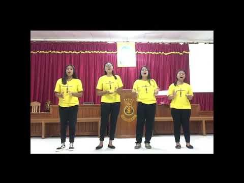 Persembahan Vokal Grup Dari Korps Uerani Divisi Palu Timur