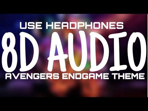 Avengers Endgame Theme - (8D AUDIO)