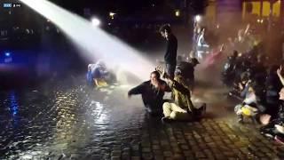 Hamburg G20 Polizeigewalt (Violence policière) - Pfefferspray & Wasserwerfer