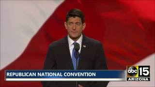 Speaker Paul Ryan to Republican National Convention: Donald Trump is your Candidate