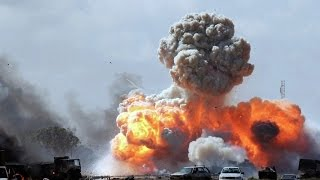 Stunning Russian Attacks ISIS | Impressive footage of russian airstrike in Syria