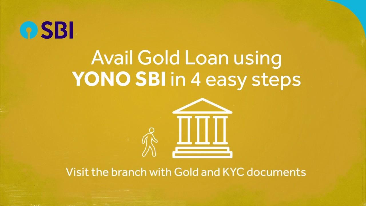 Avail Gold Loan through YONO SBI