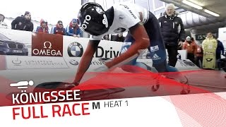 KÖnigssee | BMW IBSF World Cup 2015/2016 - Men's Skeleton Heat 1 | IBSF Official