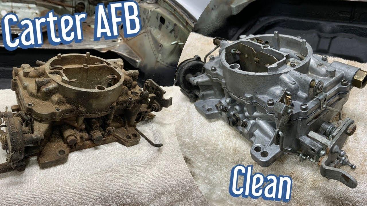 Carter Carburetor Rebuild Time-Lapse