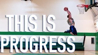 Journey to a 50 Inch Vertical: TWO NEW SIGNS of DUNK PROGRESS! Video