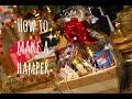 How To Make a Christmas Hamper