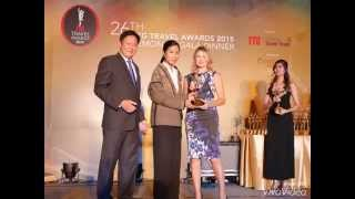 Diethelm Travel has been voted as the Best Travel Agency - Indochina in 2015