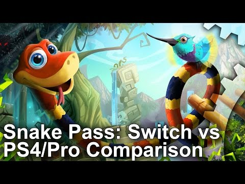 Snake Pass: Switch vs PS4 Comparison + Frame-Rate Test