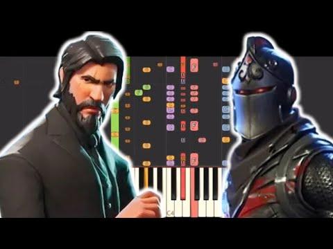 IMPOSSIBLE REMIX - The Fortnite Rap Battle - NerdOut - Piano Cover