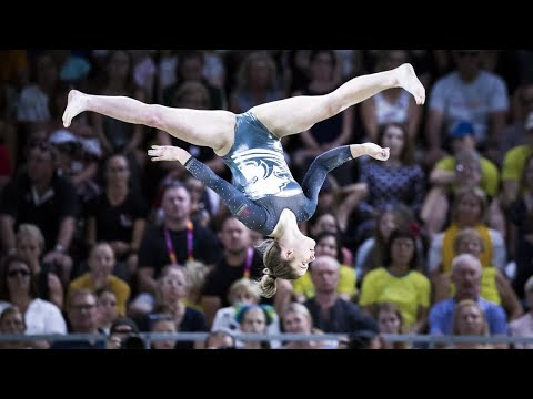 Alice Kinsella springs to victory as England's gymnasts strike gold at the Commonwealth