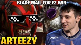 Arteezy Bloodseeker Mid Lane - 2EZ WIN with Blade Mail