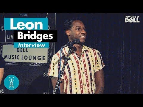 Leon Bridges Interview [LIVE Dell Music Lounge 2018] | Austin City Limits Radio