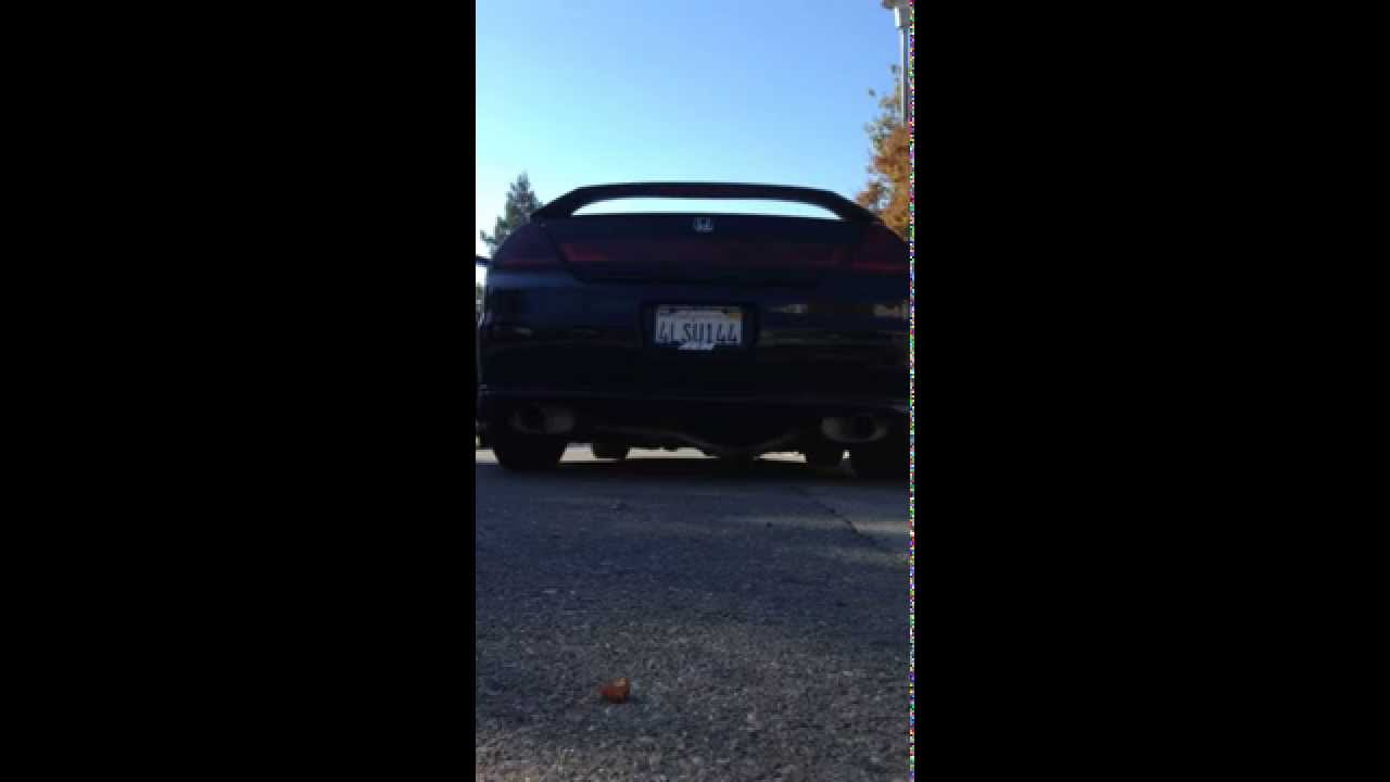 1999 Honda Accord V6 Custom Magnaflow Cbe Youtube