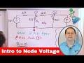 Lesson 1 - Intro To Node Voltage Method (Engineering Circuits)