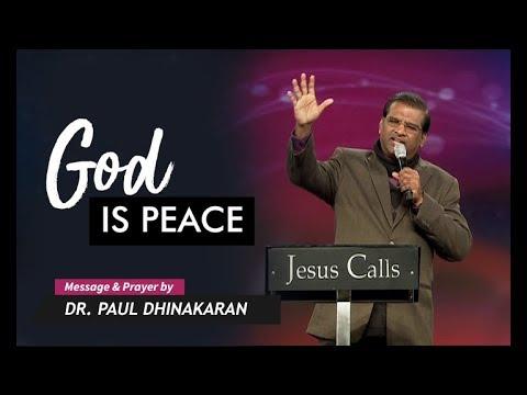 God's Peace (English - Hindi) | Dr. Paul Dhinakaran