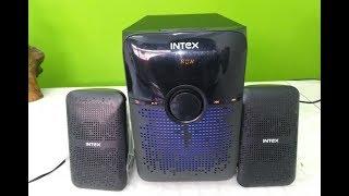 Intex IT-213 Woofer Speaker Unboxing amp Testing