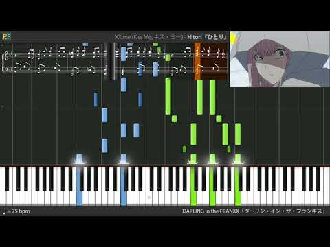 Darling in the FranXX Ending 4 (Episode 13 OST) - Hitori (Synthesia)
