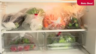 Sachets fraîcheur fruits et légumes de Betty Bossi