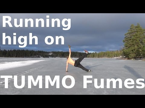 Wim Hof Running high on TUMMO fumes after ice bath