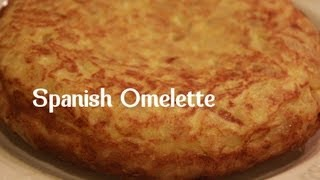 SPANISH OMELETTE | TORTILLA DE PATATAS RECIPE BY SPANISH COOKING