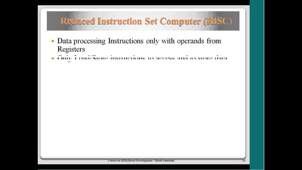 NPTEL :: Electronics & Communication Engineering - ARM Based
