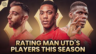 Player Ratings: Manchester United Squad 2019/20!