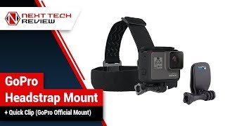 GoPro Headstrap Mount + Quick Clip GoPro Official Mount Product Review  – NTR
