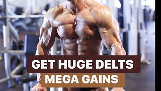 Get Huge Delts With Mike O'Hearn