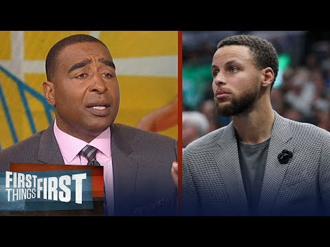 Cris Carter on Warriors: 'They are not a championship team without Steph Curry' | FIRST THINGS FIRST