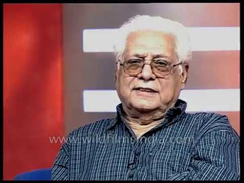 Basu Chatterjee, Indian filmmaker speaks about international film festival