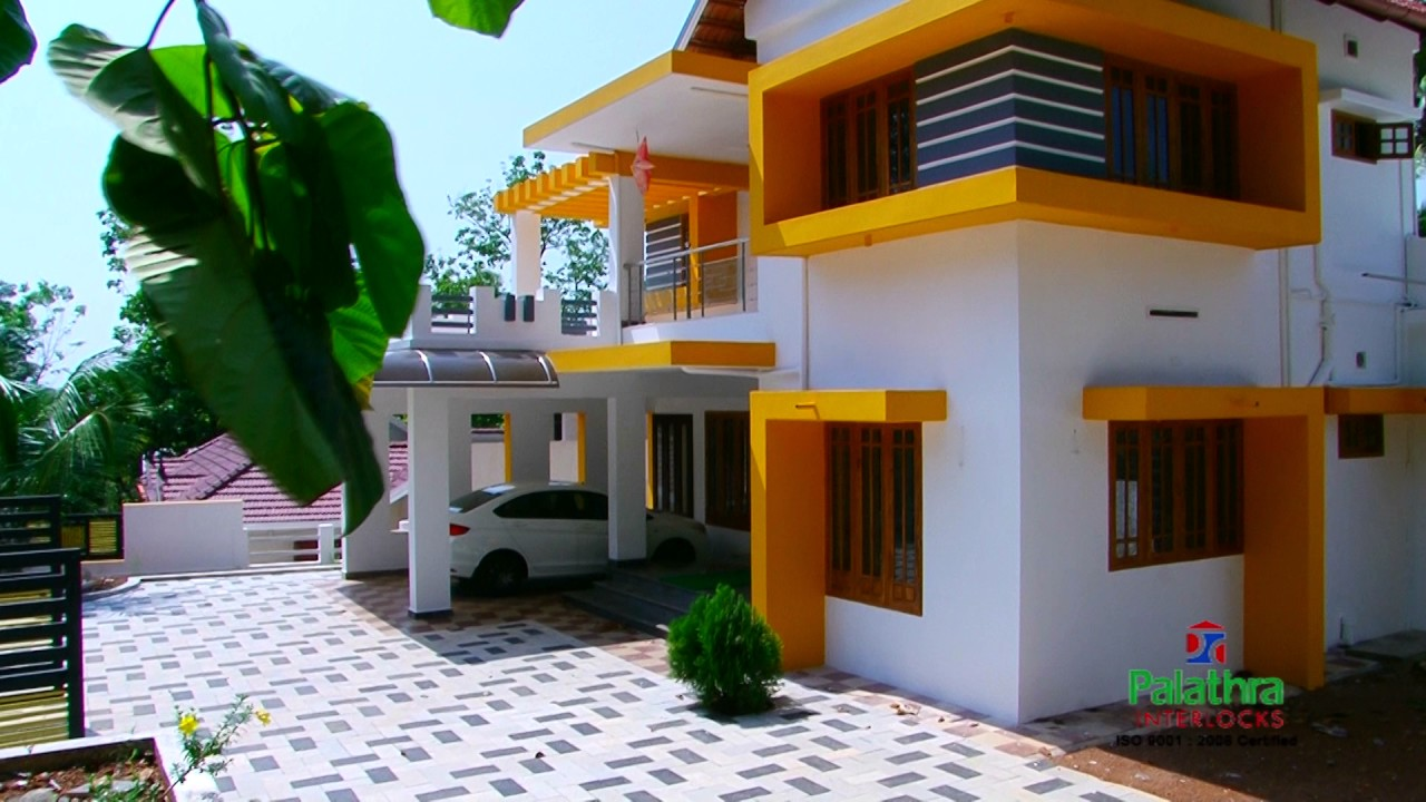 Interlock Brick Houses In Kerala