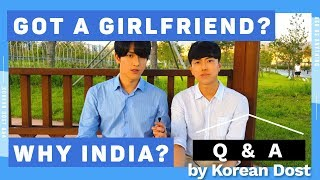 Baixar Got Girlfriend? Why India? | Q&A Korean Dost | Message to Yaaron | Hoon & Min