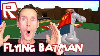 Flying Batman Superhero / Roblox