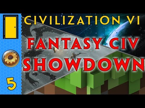 Civilization 6 Fantasy Civ SHOWDOWN! Part 5: Unpopular. Let's Play Civilization 6