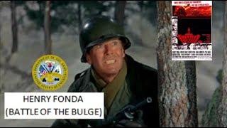 HENRY FONDA (battle of the bulge) 1965