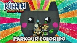 KoGaMa-  Nyan Cat O Parkour Colorido